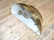 WL001B Brass Effect Wall Light