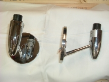 WL006S Pair of Chrome Wall Lights