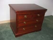 COD700MF  Chest of Drawers in Mahogany Finish