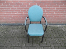 BC150AFTU  Burgess Banqueting Chair with Arms