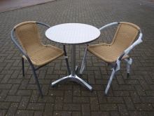 BISSET050WK ***Special Summer Discount Price*** Outdoor Bistro Table and Chair Sets