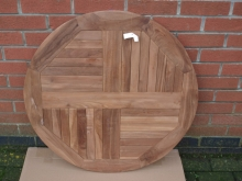 RTT0100TK8 New 800mm Diameter Round Teak Outdoor Table Top