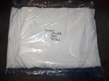 DVC048076 Plain White Hotel Duvet Covers - 8ft x 7ft6