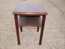 BST07DM Bedside Cabinet in Dark Mahogany Finish