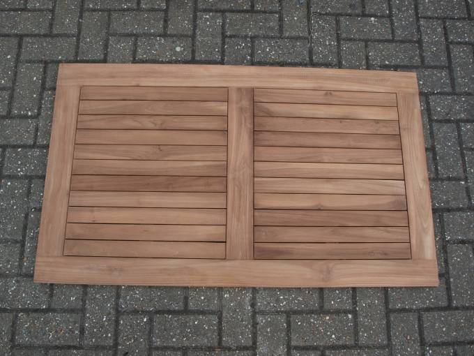 Ntbt0100tk New Rectangular Solid Teak Outdoor Table Top