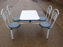 CFU02SFS Four Seater Cafeteria Style Table & Chair Units