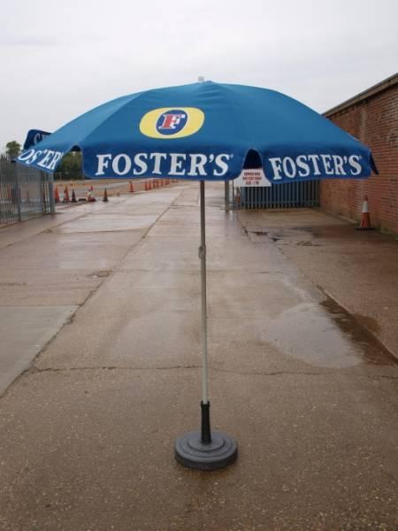 Par03fs Fosters Branded Pub Garden Parasol