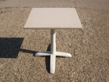SRT08CLT Two Seater Restaurant Pedestal Tables with Vinyl Covered Top