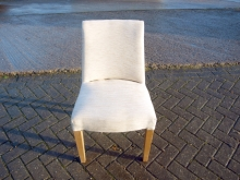 RDC04NEWCU Restaurant Dining Chair with New Cream Upholstery