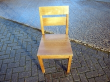 MOWRC10 Medium Oak Wooden Restaurant Chair