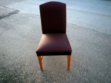 RDC05NEWFLU Restaurant Dining Chair with New Faux Leather Upholstery