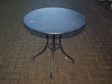 ODT02MT Round Outdoor Tables with Metal Top
