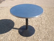 ODT010ALRT Large Round Outdoor Pedestal Tables with Aluminium Top
