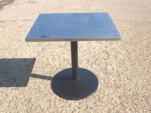 ODT02ALT Square Outdoor Pedestal Tables with Aluminium Top