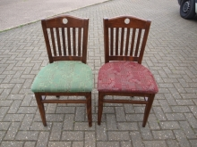 RBC03RDGN Bar/Restaurant Chairs with Fabric Upholstered Seats