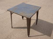 ODT02MTS Square Outdoor Tables with Metal Top