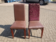 RDC06SET Set of Six High Back Restaurant Dining Chairs