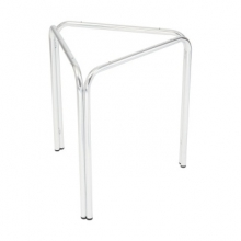 EXSTLSATB080 Ex-Showroom Three Legged Stackable Aluminium Table Base