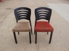 RDC04TRG Contempary Style Restaurant Dining Chairs with Upholstered Seats