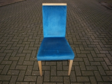 ATDC060B Andy Thornton Dining Chair in Blue