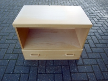 SDU08LW Single Drawer Unit in Light Wood