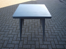 GMTAB02  Grey Metal Table
