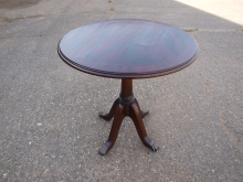 OTCF11 Occasional Table with Brass Claw Foot