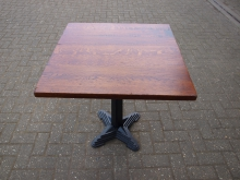 SWT10 Solid Wood Table with Heavy Duty Base