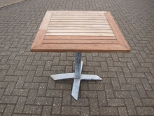 ODFT2 Outdoor Flip Top Table. 70cm x 70cm Top