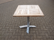 ODFT13 Outdoor Flip Top Table. 70cm x 70cm Top