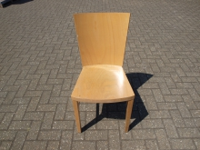 RDC38LW Restaurant Dining Chair in Light Wood