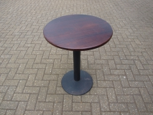 TSRT26 Two Seater Round Pedestal Table