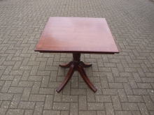 TSSPT14 Two Seater Square Pedestal Table