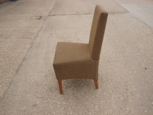 HBDC27 Upholstered High Back Dining Chair
