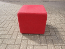 RFC2 Cube Seat in Red Fabric
