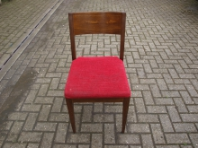 RDCR4 Restaurant / Dining Chair with Red Upholstery