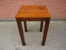 SWPT2  Solid Wood High Poseur Table