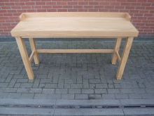 LUT1 Large Light Wood Utility / Reception Table