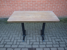 MERT2 Metal Edged Table. 120cm x 60cm Top