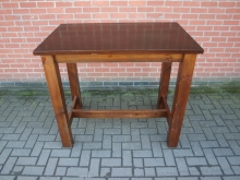 POSRT1 Solid Wood High Poseur Table. 120cm x 75cm Top