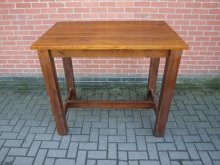 SWHPT1 Solid Wood High Poseur Table. 120cm x 75cm Top