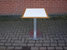LTT2 Table with Chrome Base. 54cm x 54cm Top