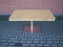 LLWPT2 Pedestal Table.  120cm x 60cm Top