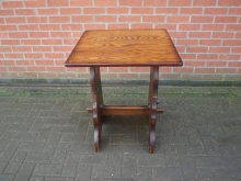 REFT1 Refectory Style Table. Top 60cm x 60cm