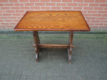 PTREF10 Refectory Style Table. Top 90cm x 60cm
