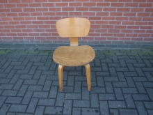 RBCLW10 Light Wood Restaurant / Bistro Chair