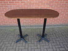 TPEDP1 High Poseur Table. Top 150cm x 65cm