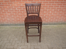 DWHBS9 High Bar Stool. Seat Height 76cm