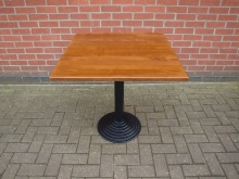 PTWAL1 Pedestal Table. Top 76cm x 76cm