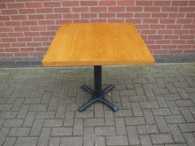 PTGLD1 Pedestal Table. Top 76cm x 76cm